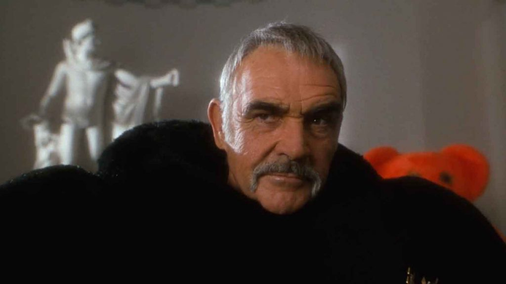 Sean-Connery-teddy-bear-scene-costume-Avengers-1998