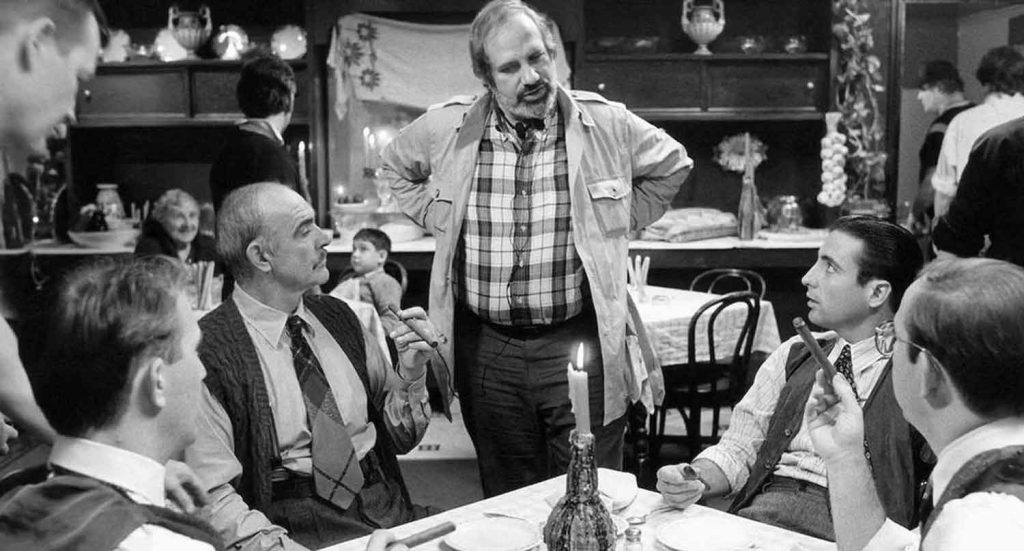 Untouchables-1987-Brian-DePalma-Costner-Connery-Garcia-behind-scenes-filming