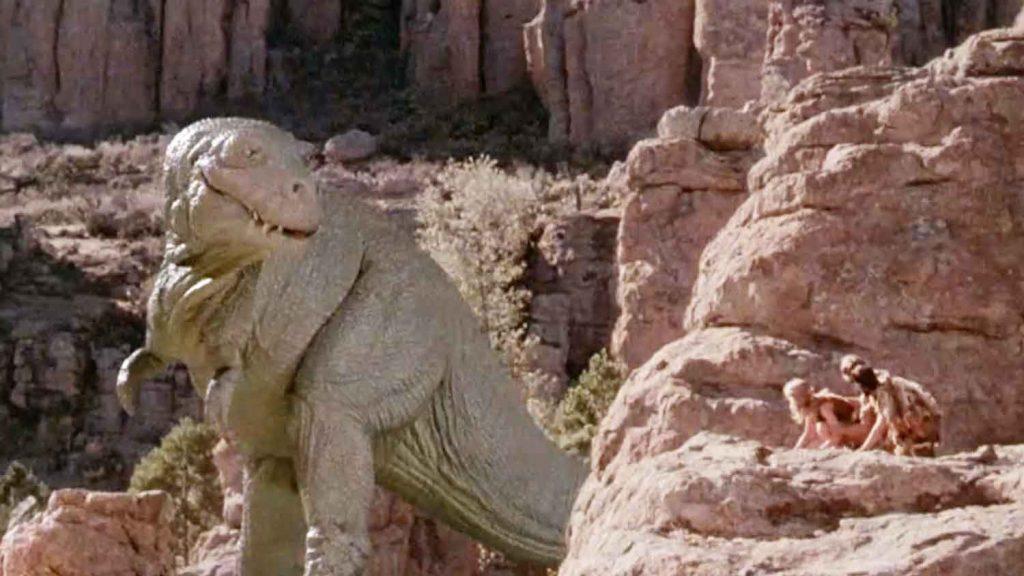 Caveman-1981-comedy-dinosaur-stop-motion-effect-model