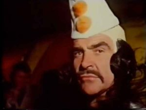 Circasia-1976-Sean-Connery-clown-costume-circus-short-film