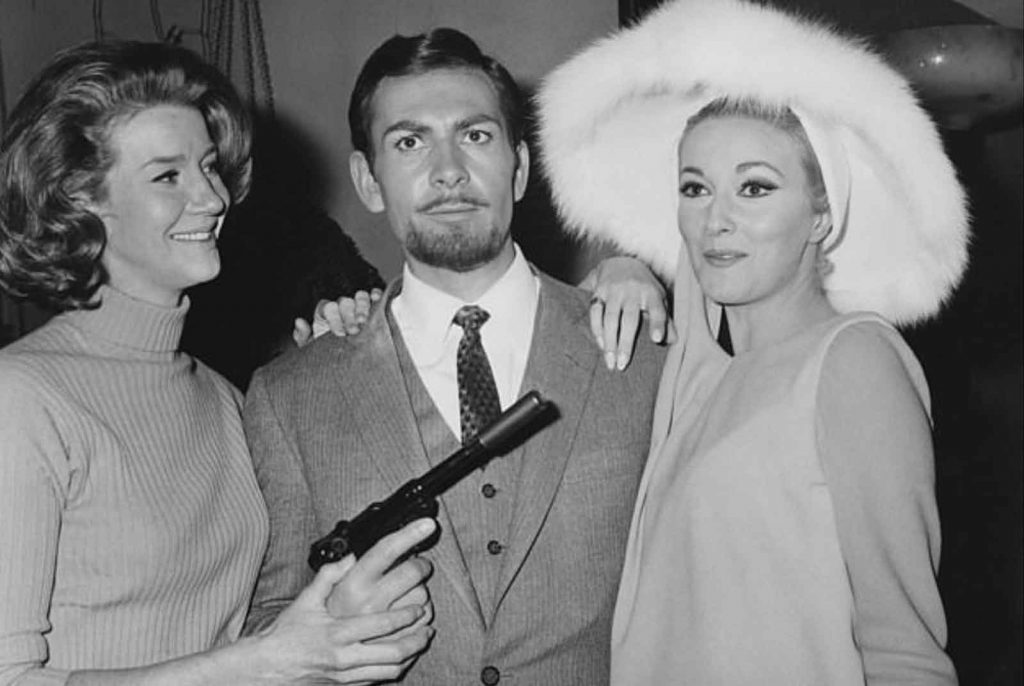 Lois-Maxwell-Neil-Connery-Daniela-Bianchi-Operation-Kid-Brother-OK-Connery-1967-James-Bond-spoof